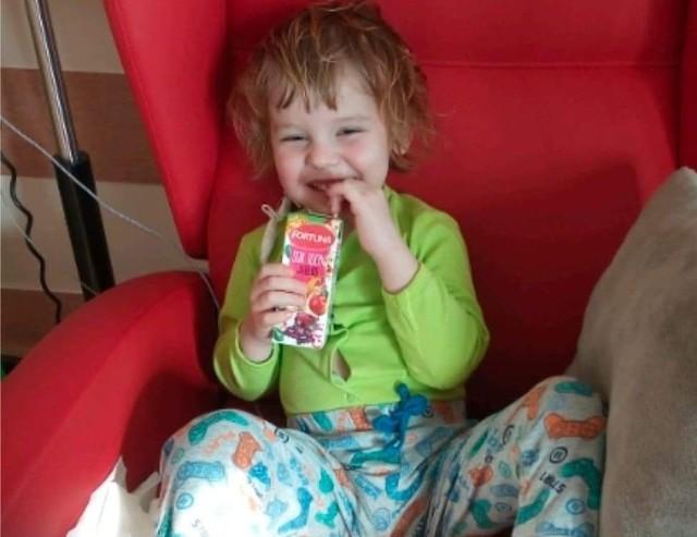 3-letni Antoś Piasecki