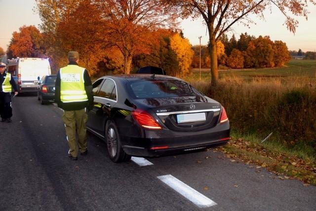 Straż Graniczna z Ustki zatrzymała dwa skradzione w Niemczech mercedesy
