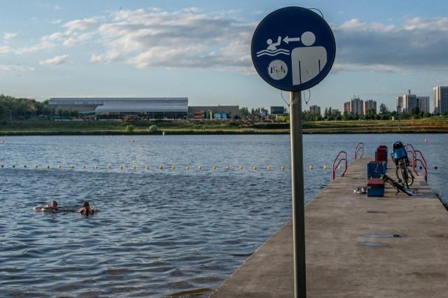 Od poniedziałku, 26 lipca do odwołania obowiązuje zakaz kąpieli w kąpielisku nad jeziorem maltańskim