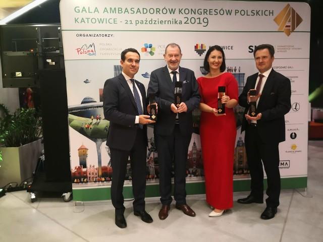 Gala Ambasadorów Kongresów Polskich 2019 w Katowicach