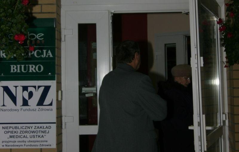 Firma Ryszarda Kuźmina po wejściu komornika.