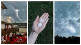Ciemne chmury i grzmoty nad województwem lubelskim. Gradobicie w Rykach. Zobacz zdjęcia Czytelników