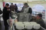 Gorąca zupa dla protestujących rolników