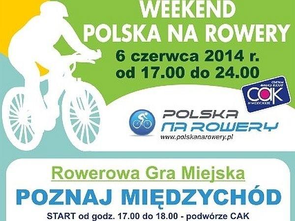 W piątek w Międzychodzie rozegrana zostanie rowerowa gra miejska. Organizatorzy zapraszają miłośników jednośladów.