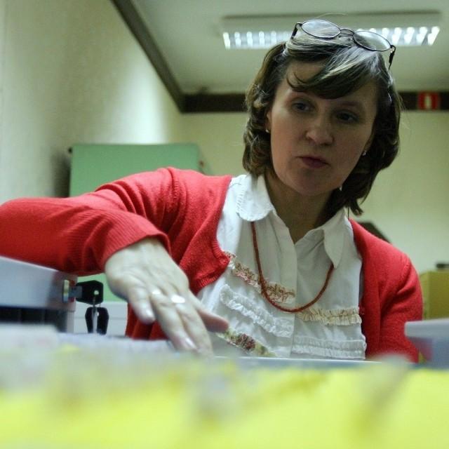 Anna Pietrzak z Wydziału Spraw Obywatelskich Urzędu Miasta Świdnik.