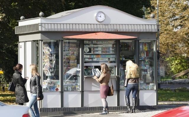 Kiosk RUCH-u przy ul. Świdnickiej