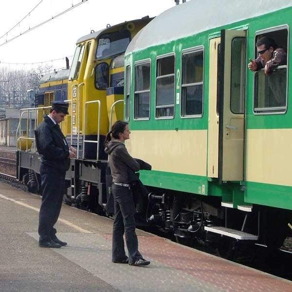 Na razie PKP uruchomiła sześć połączeń na trasie Rzeszów - Kolbuszowa.