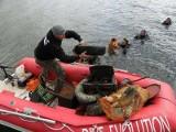 Co płetwonurkowie znaleźli na dnie jeziora