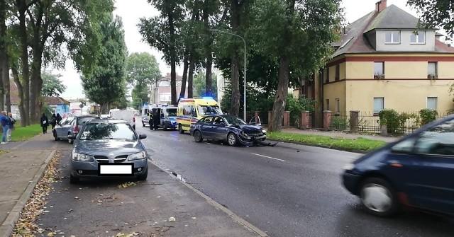 Pijany obywatel Ukrainy spowodował wypadek. Jedna osoba trafiła do szpitala