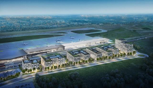 Airport City Gdańsk. - Budowa całego kompleksu ma zająć kilkanaście lat i pochłonąć ponad miliard złotych - poinformowały władze lotniska  podczas piątkowej konferencji