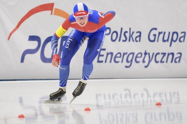 Karolina Bosiek obroniła tytuł łyżwiarskiej mistrzyni Polski w wieloboju