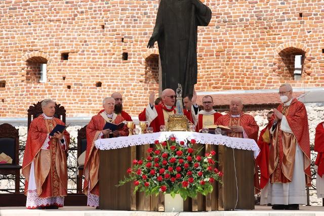 Na krakowskiej Skałce odbyły się tradycyjne uroczystości ku czci. św. Stanisława