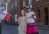 Poznaniacy oglądali mecz Polska - Słowacja. Zobacz zdjęcia