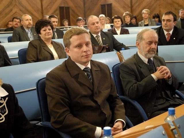 Paweł Gzyl, jeszcze jako radny miejski.