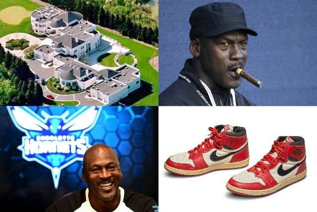 Szacuje się, że Michael Jordan został miliarderem w 2014 r., 11 lat po zakończeniu kariery. Dwa mld przekroczył w tym roku, jego majątek wycenia się na 2,2 mld dol. Co wchodzi w jego skład? Zapraszamy do obejrzenia galerii!