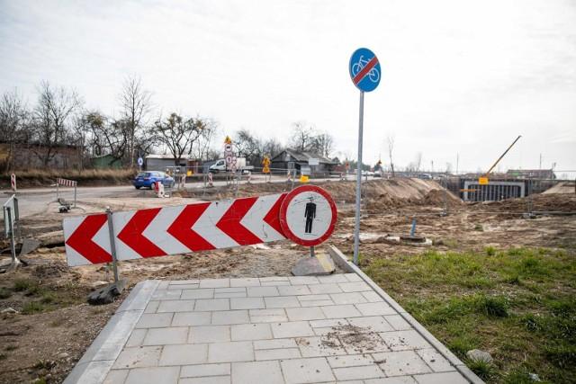 Prace nad przebudową ul. Klepackiej mają potrwać do końca listopada.