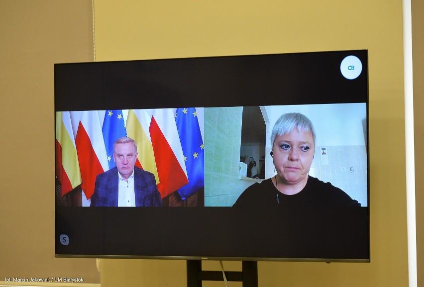Gościem konferencji była Barbara Kamińska - mieszkająca we...