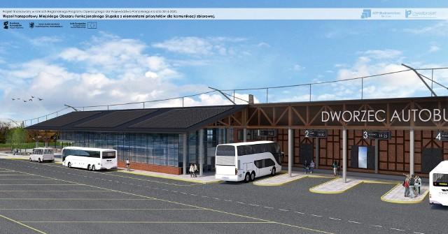 Nowy dworzec autobusowy będzie wyglądał tak.