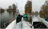 Jesienny rejs po Nogacie i Zalewie Wiślanym. Żuławskie krajobrazy widziane z pokładu jachtu na trasie Kąty Rabackie - Malbork