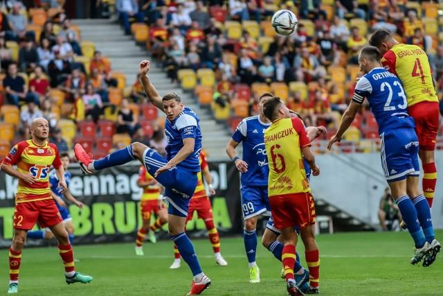 Jagiellonia pogubiła ostatnio dużo punktów w spotkaniach z zespołami, które są w dolnej połówce tabeli, jak chociażby Stal Mielec