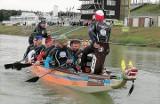 Inowrocław. Pan podporucznik z 82 batalionu lekkiej piechoty kocha sporty wodne. Jego pasją są wyścigi smoczych łodzi. Zdjęcia