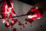 Horror w Łodzi w mieszkaniu na Marysinie! Z zazdrości o byłą dziewczynę chciał zabić jej partnera, zadał aż 11 ciosów nożem!