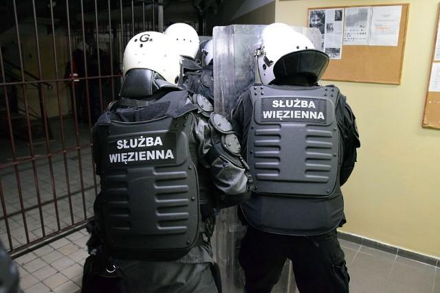 W Zakładzie Karnym w Goleniowie.