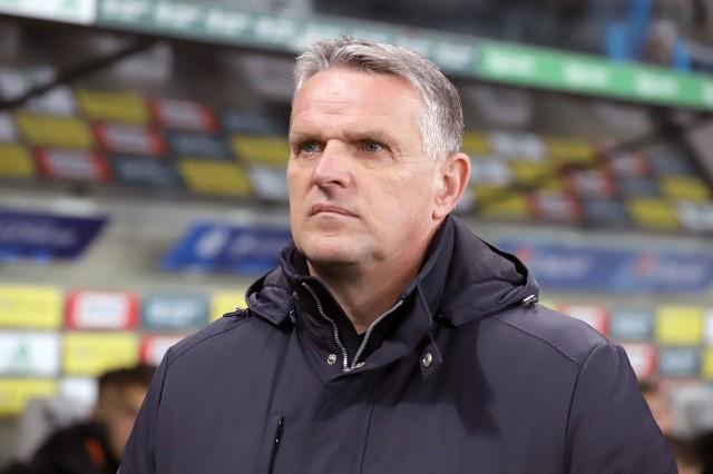 Trener ŁKS Kazimierz Moskal