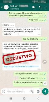 Powiat myślenicki. Sprzedający złowiony w sieci przez oszustów stracił prawie 10 tys. zł!
