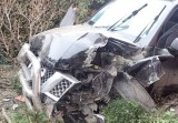 Samochód wjechał w dom w Rybniku. Kierowca uciekł przed policją, bo był pijany. Wracał z imprezy sylwestrowej