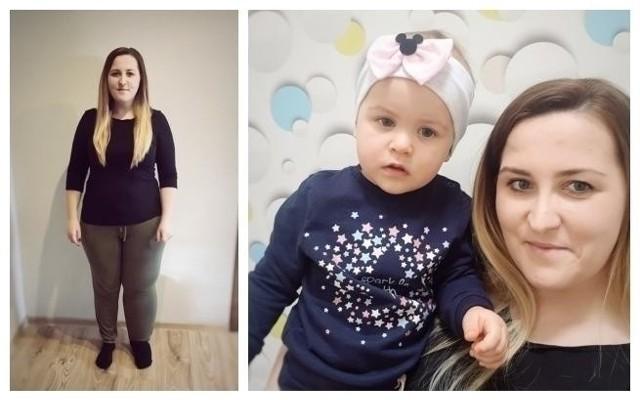 Martyna Tuzimek zmaga się z obrzękiem limfatycznym lewej nogi. To utrudnia jej także zabawę z ukochaną córeczką...