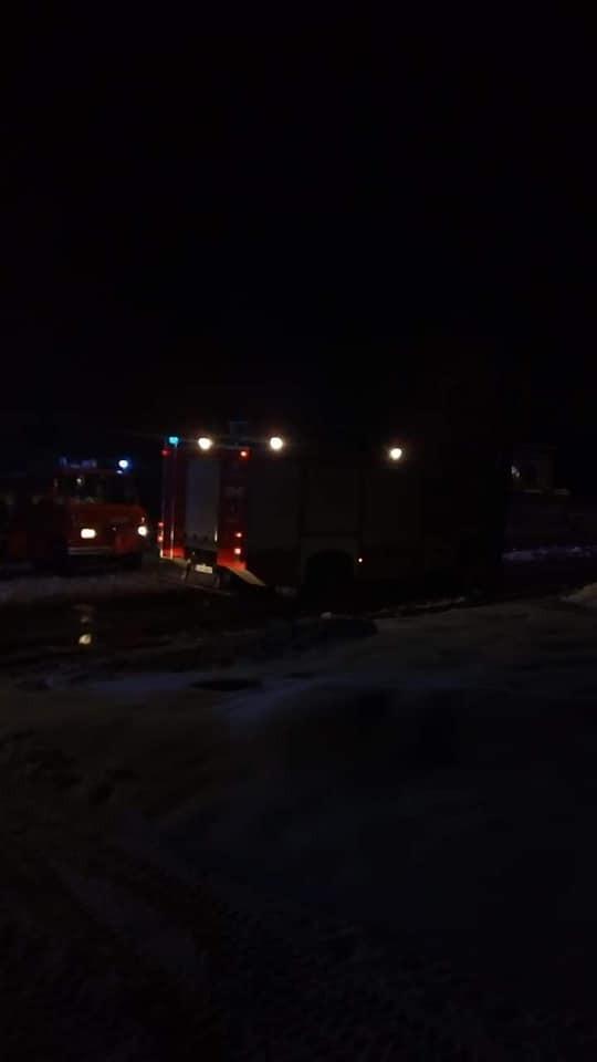 Pożar i eksplozje w Czarnej Białostockiej. Eksplodowały...