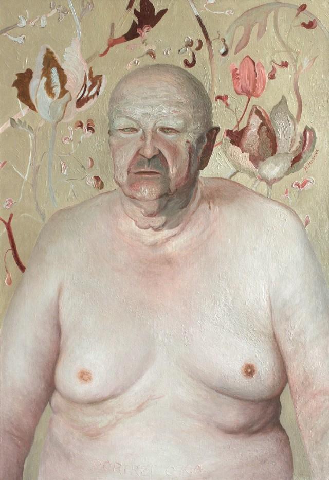 bez tytułu, 2003, olej na płótnie (z kolekcji Muzeum Sztuki w Łodzi)