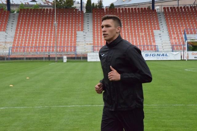 Robert Majewski strzelił jedynego gola w meczu Wisła - KSZO 1929