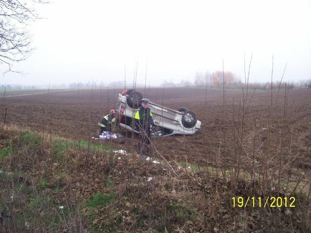 Wypadek miał miejsce około godz. 9 rano