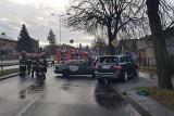 Wypadek na Łagiewnickiej w Łodzi to rozbój. Porachunki zamaskowanych kiboli [ZDJĘCIA, FILM]