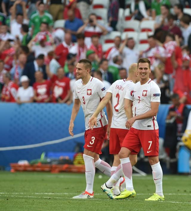 Polacy po meczu z Irlandią Północną mieli powody do zadowolenia