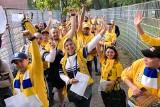 Kibice Motoru Lublin już się bawią na stadionie we Wrocławiu przed meczem z Betard Spartą