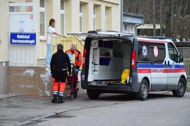 Drugie podejrzenie koronawirusa w Koszalinie. Oddział C w Wojewódzkim Szpitalu w Koszalinie, na którym obecnie znajduje się oddział zakaźny