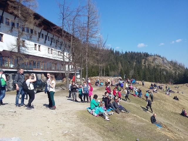 Hotel górski na Polanie Kalatówki