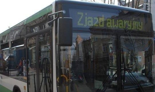 W sobotę rano autobusy zmieniają trasy