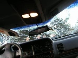 Jadąca renault kobieta wymusiła pierwszeństwo na kierowcy...