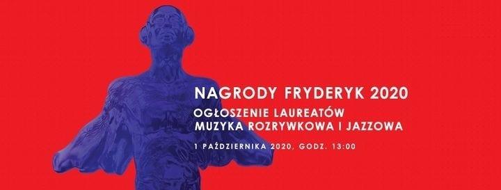 Ogłoszenie laureatów Fryderyków odbędzie się 1 października