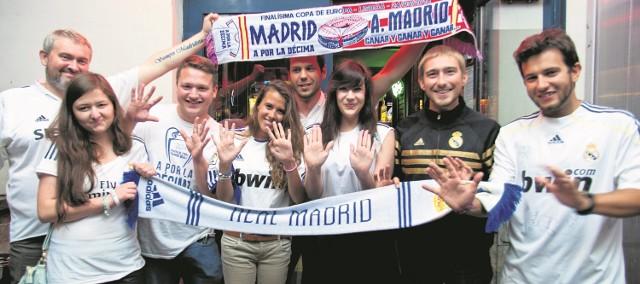 Polscy fani Realu Madryt ze stowarzyszenia Águila Blanca