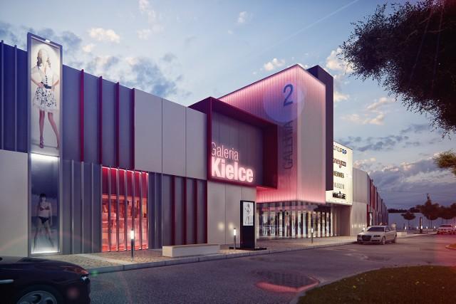 Tak wyglądała będzie galeria handlowa, która powstanie za dwa lata w gminie Miedziana Góra pod Kielcami.