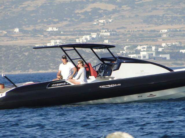 Tom Hanks i Rita Wilson na wakacjach w Grecji w 2016 roku