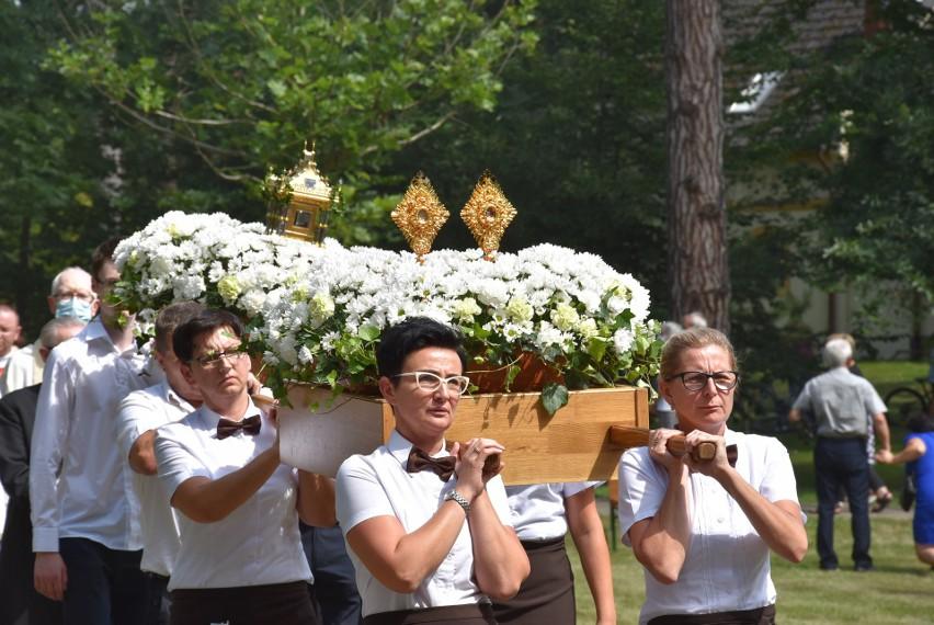 Tak wyglądały uroczystości ku czci św. Jacka w Kamieniu Śląskim.
