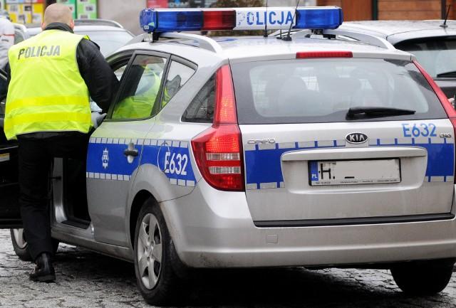 Policja wyznaczyła objazd