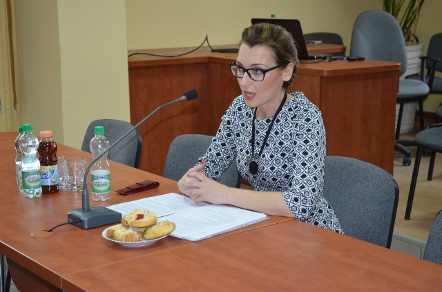 O przedsięwzięciach PUP w 2017 r. mówiła p.o. dyrektora Olga Berdysz