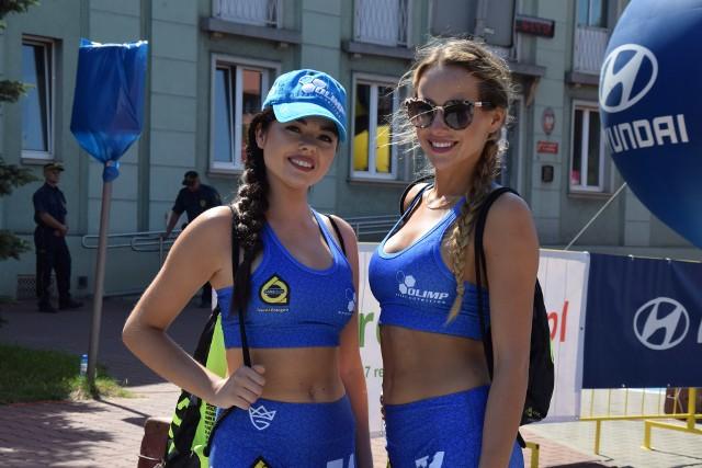 Tour de Pologne w Zawierciu: miasteczko startowe